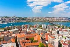 Klaxon d'or à Istanbul images stock