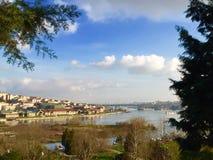 Klaxon d'or, Haliç Images stock
