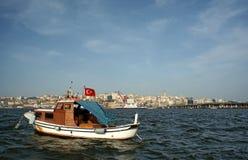 Klaxon d'or (Istanbul, Turquie) Photos stock
