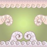 Klaxons et dentelles d'agneau Illustration Stock