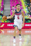 Klay Thompson of USA Royalty Free Stock Photos