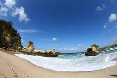 Klayar-Strand Osttimor Stockbilder
