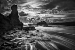 Klayar-Strand von Pacitan Osttimor Indonesien Stockbild