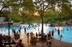 klcc公园水 免版税库存照片