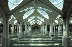 KLCC清真寺或Syakirin清真寺在吉隆坡 库存照片
