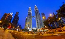 KLCC Μαλαισία Στοκ εικόνες με δικαίωμα ελεύθερης χρήσης