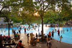 klcc ύδωρ πάρκων Στοκ φωτογραφίες με δικαίωμα ελεύθερης χρήσης