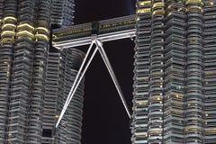klcc моста Стоковые Изображения RF