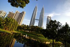 KLCC - 06 Royalty Free Stock Images