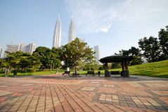 KLCC - 18 Royalty Free Stock Photo