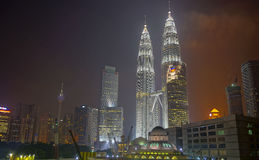 KLCC Foto de Stock Royalty Free