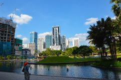 KLCC City Park Royalty Free Stock Images