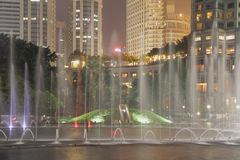 KLCC Fountains Stock Images