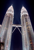 KLCC Kontrollturm, Kuala Lumpur, Malaysia stockfoto