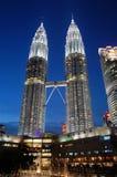 klcc Kuala Lumpur obrazy stock