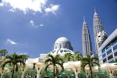 KLCC Mosque Royalty Free Stock Image