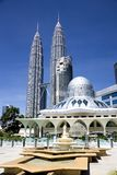 KLCC Mosque Royalty Free Stock Images