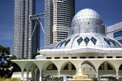 KLCC Mosque Stock Images