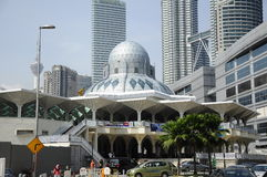 KLCC Mosque or As-Syakirin Mosque in Kuala Lumpur Royalty Free Stock Images