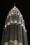 KLCC at night Stock Photography