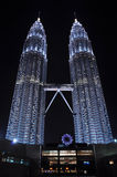 KLCC at night Stock Images