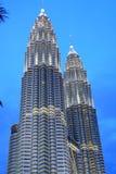 KLCC In The Night. Malaysia Capital Kuala Lumpur KLCC Royalty Free Stock Photo