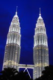 KLCC In The Night Stock Image