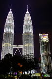 KLCC In The Night Stock Photo