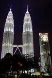 KLCC In The Night. Malaysia Capital Kuala Lumpur KLCC Stock Photo