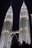 KLCC In The Night Stock Photos
