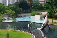 KLCC-Park in Kuala Lumpur, Maleisië Royalty-vrije Stock Fotografie