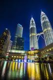 KLCC - Petronas bliźniacza wieża Fotografia Stock