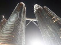 KLCC PETRONAS TWIN TOWER. Petronas Twin Tower or KLCC is a Landmark Building in Kuala Lumpur Malaysia Stock Photo