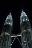 KLCC, Petronas Twin Towers Stock Photo