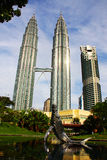 KLCC Tower. KLCC twin tower is one of the famous spot in malaysia Royalty Free Stock Images
