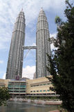 KLCC towers Royalty Free Stock Images