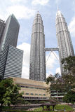 KLCC towers Royalty Free Stock Image