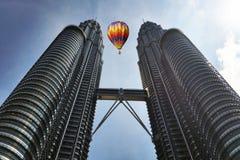 KLCC  Twin Tower Kuala Lumpur Royalty Free Stock Images