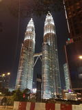 KLCC Twin Tower Royalty Free Stock Images