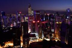 KLCC view at Kuala Lumpur, Malaysia Royalty Free Stock Image