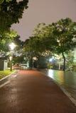 klccparkwalkway Royaltyfri Bild