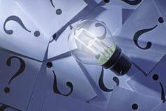 Kläckning av ideer Arkivfoto