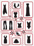 kläder Fotografering för Bildbyråer
