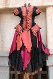 Kläder för renässans för kvinna` s klär & smycken Royaltyfri Foto
