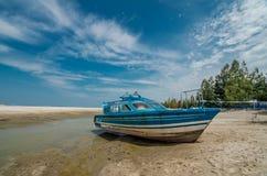 Klebang strand Arkivfoton