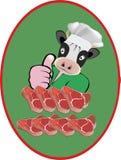 Klebendes Fleischgemetzel Lizenzfreies Stockfoto