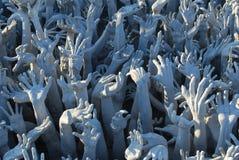 Kleber übergibt Skulptur Lizenzfreie Stockfotografie