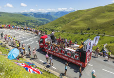 Kleber Caravan - Tour de France 2014 Royalty Free Stock Photos