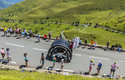 Kleber Caravan - Tour de France 2014 Royalty Free Stock Images