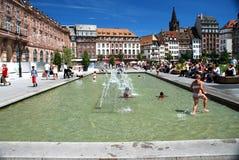 kleber miejsce Strasbourg Zdjęcie Stock